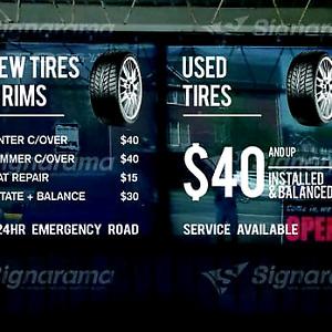 235-55-20 bridgestone used set of 4 all seaso  tires