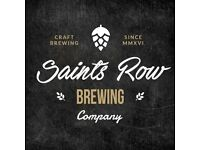 Part-time Sales Executive for a brand new brewery