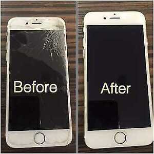 PHONE REPAIR IPHONE-SAMSUNG- IPAD SCREEN REPLACEMENT4 5S 5C 6+ 7
