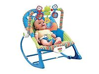 Fisher price 3 in 1 rocker bouncer musical mint condition