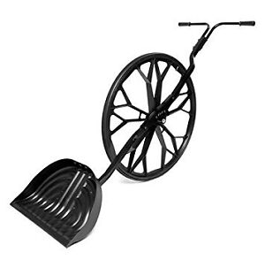 Snow Wolf - Let the big dog roll-Commercial Wheeled Snow Shovel