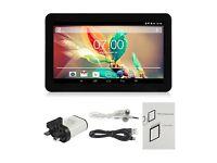 "NEW: - Black 9"" Pad Android 4.4 Tablet PC Ebook Quad Core Dual Camera 16G"