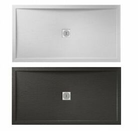 Slate grey shower tray