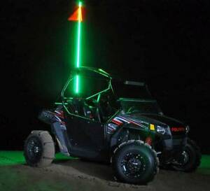 FIBRE OPTIC LED WHIPS FOR ATV'S, UTV'S, 4X4 TRUCKS, TRANSPORTS