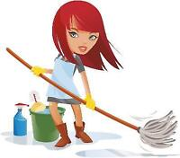 Reliable cleaning lady is looking for some more houses and condo
