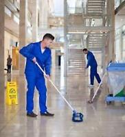 Seeking Part-Time Janitors and Cleaners