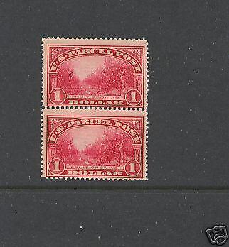 Q12     Mint   NH   pair       catalog  $1,700.00