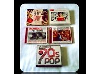 MUSIC CDS - 60s/70s - COMPILATION - (14 discs) - FOR SALE