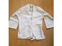 Aikido Gi ( Training Suit ) Jacket & Trousers with belt For Sale