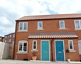 Two bedroom end terrace with off road parking for 3 vehicles