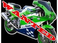 WANTED: Motorbike