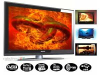 """Philips 32"""" LCD Full HD 1080p TV with AmbiLight, Freeview, 2 x HDMI, USB Media Player not 37, 40 42"""