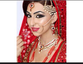 £150 Asian bridal make up artist in London, Whitechapel, Essex, Southall, Slough
