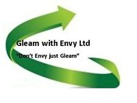 Gleam with Envy Cleaners NEEDED - Great flexibility with working hours -