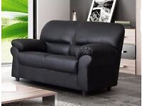 Leather 2 Seater - new