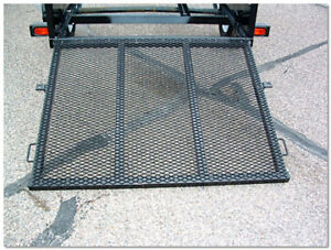 gate ramp for a utility trailer