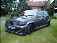 Renault 5 gt turbo wanted