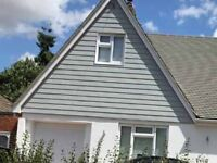 Fascias and soffits, composite cladding (timber effect)