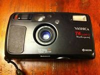 Yashica T4 - Cult 35mm Zeiss Point and Shoot Camera