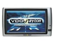 VDO Dayton non C-IQ Europe 2014/2015 Satellite Navigation Disc Set.