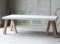 Custom Concrete work - Tables, benches, Lamps, Counter Tops