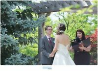 Wedding officiant - elope, legal signing, full ceremony