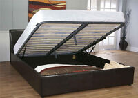 GREAT DEAL ON STORAGE BED & MATTRESS (Bed 166)