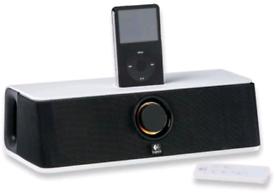 Logitech Audiostation Express Portable Ipod Speaker