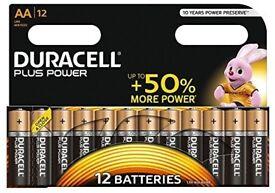 Duracell battery packs.