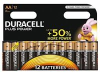 Duracell battery packs.