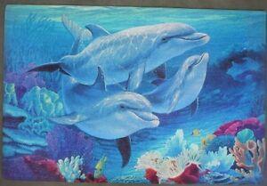Dolphin doormat, Door-Mat, dolphins mat, designer doormat, mat Oakville / Halton Region Toronto (GTA) image 1