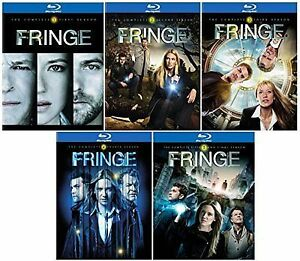 Fringe-All 5 Seasons on Blu-Ray-19 discs in all-Mint condition