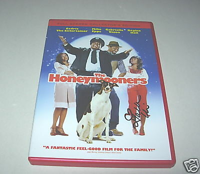 Gabrielle Union Signed Honeymooners Dvd Cover Photo