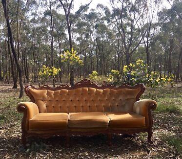 Vintage Lounge for Hire Wedding Engagement Props