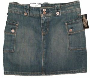 Ralph Lauren Cargo Jean Skirt - Size 27 - NEW