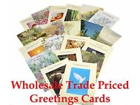 10,000 Good Quality Mixed Type Greetings Cards For Car Boot Sellers, Ebayers Wholesale Job lot