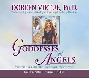 VIRTUE,DOREEN-GODDESSES & ANGELS 4 CD SET  AC NEW