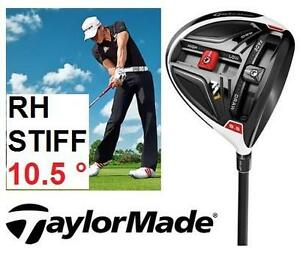 NEW TAYLORMADE MEN'S GOLF DRIVER RIGHT HAND  FUJIKURA GRAPHITE - STIFF FLEX - 10.5 DEGREE - SPORTS CLUB OUTDOOR