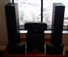 Klipsch Synergy Speakers with Subwoofer and Onkyo AV Receiver Bridgewater Adelaide Hills Preview