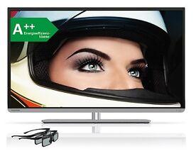 Toshiba 48L5441DG 121cm (48Zoll) 3D LED-Backlight EEK:A++  FullHD 200Hz AMR