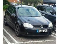 2006 VW GOLF 2.0 GT TDI 140 BHP BLACK 5DR 104k offers welcome