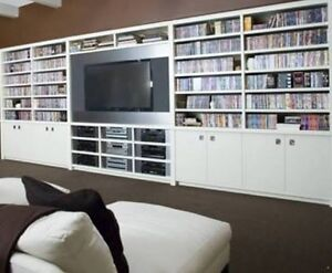 DVD shelfs need custom built Rutherford Maitland Area Preview
