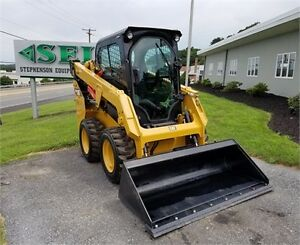 **2015 CAT 232D SKIDSTEER PRIVATE OWNER 33HRS**