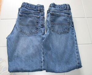 2x Boys OshKosh classic jeans size 12 slim *light wash