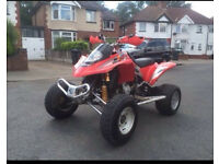 Road legal quad bike GAS GAS 450 sport NOT Quadzilla Yamaha raptor Suzuki