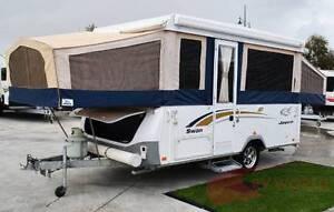 Jayco Swan Family Camper - Sleeps 6 - Awning - House battery Wodonga Wodonga Area Preview