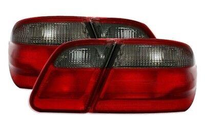 Rückleuchten Set links + rechts Mercedes E-Klasse W210 Limo 95-02 rot/schwarz