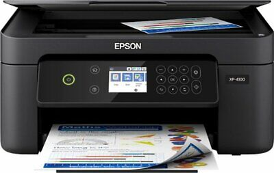 Epson Expression Home XP-4100 Wireless All-In-One Inkjet Printer Black