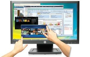 """HP 22"""" Touchscreen Monitor Full HD buit in speakers  Tactile LED"""