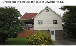 House For Sale Lewisporte NL